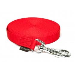 Nylon Schleppleine 20mm/5m - ohne HS - robust - rot