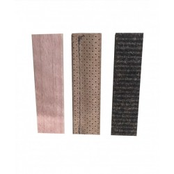 Fährtengegenstände Beginner (Merantie Holz, Teppich braun, Leder mittelbraun)