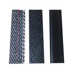 Fährtengegenstände Profi (Pappel mit PVC, Jute schwarz, Kunstleder)