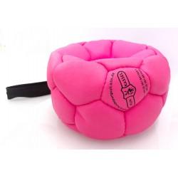 Klin Trainingsball Leder aufgepumpte Bälle 120mm - pink