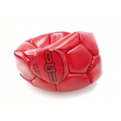 Klin Trainingsball Leder ungestopft 140mm - rot