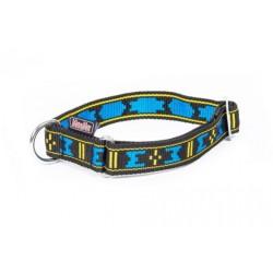 Manmat verstellbares Halsband 30mm/30-55cm - blau M-M