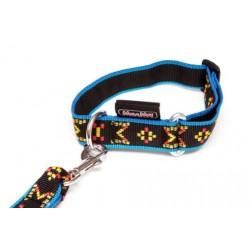 Manmat Halsband Puppy 25mm/22-34cm - blau M-M