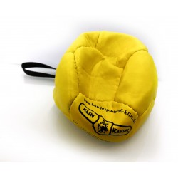 Klin Trainingsball Leder ungestopft 140mm - gelb