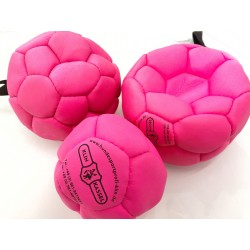 Klin Trainingsball Leder ungestopft 180mm - pink