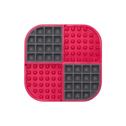 LickiMat Slomo - pinky red