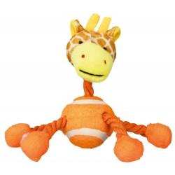 Tierchen mit Tennisball und Tau - Giraffe