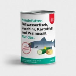 Süsswasserfisch mit Zucchini und Kartoffel - 800g
