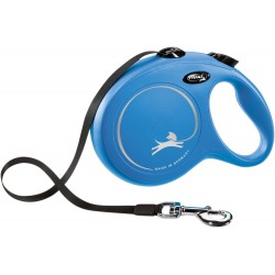 Flexi New Classic 8m - L bis 50kg - Tape - blau