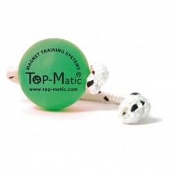 Fun-Ball Mini (grün mit Schnur)