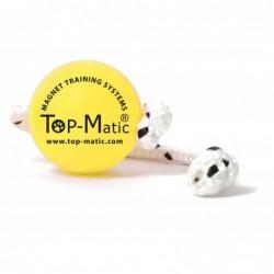 Fun-Ball Mini SOFT (gelb mit Schnur)