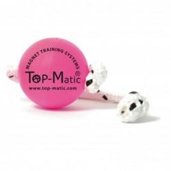 Fun-Ball Puppy SUPER SOFT (pink mit Schnur)