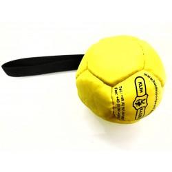 Klin Trainingsball Leder ausgestopft 90mm - gelb