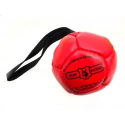Klin Trainingsball Leder ausgestopft 90mm - rot