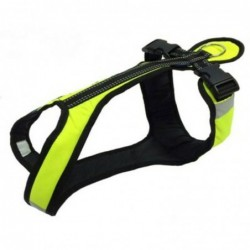 Harness SHORT SM - neongrün