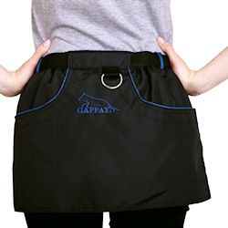 """Skirt """"KILT"""" mit blauen Streifen M-L"""