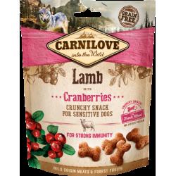 Crunchy Snack - Lamm und Cranberries - 200g