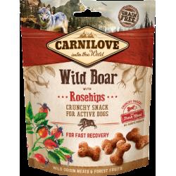 Crunchy Snack - Wildschwein und Hagebutten - 200g