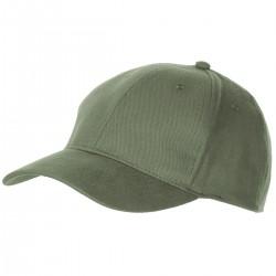 BB Cap, flach, oliv - gebürstet