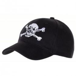 BB Cap, Totenkopf schwarz