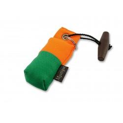 Schlüsselanhänger Mini Dummy - marking grün/orange