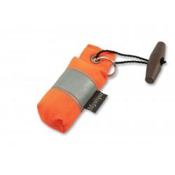 Schlüsselanhänger Mini Dummy - orange reflektierend