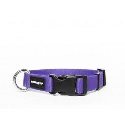 Nylon Halsband Profi 30mm lila 40-50cm