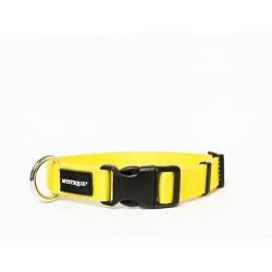 Nylon Halsband Profi 25mm gelb 40-50cm