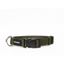 Nylon Halsband Profi 25mm khaki 40-50cm