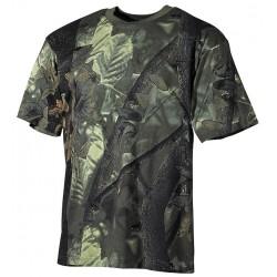 US T-Shirt, halbarm - L - hunter grün