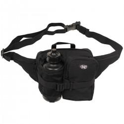 Hüfttasche mit Trinkflasche - schwarz