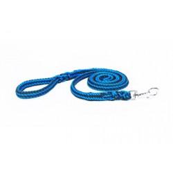 Geflochtene Leine - blau