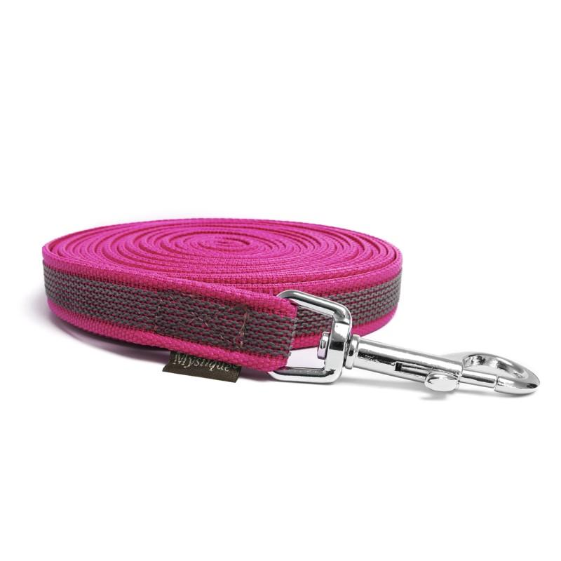 Grizzly Skijor Belt Laufgurt pink
