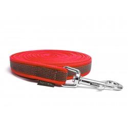 Gummierte Schleppleine 12mm rot 5m
