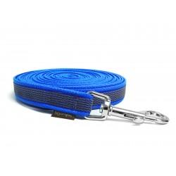 Gummierte Schleppleine 12mm blau 5m