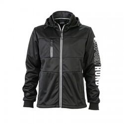 Maritim Softshell-Jacke schwarz - XL
