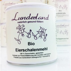 Lunderland Bio-Eierschalenmehl - 400g