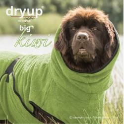DryUp Cape Big - kiwi - 90cm - Bademantel
