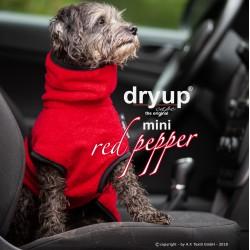 DryUp Cape Mini - red pepper 35cm - Bademantel