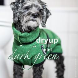 DryUp Cape Mini - dunkelgrün 35cm - Bademantel