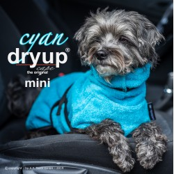 DryUp Cape Mini - cyan 30cm - Bademantel