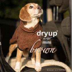 DryUp Cape Mini - braun 35cm - Bademantel