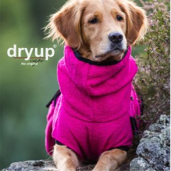 DryUp Cape Standard - pink L (65cm) - Bademantel