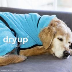 DryUp Cape Standard - cyan L (65cm) - Bademantel