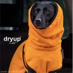 DryUp Cape Standard - clementine XS (48cm) - Bademantel