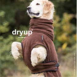 DryUp Cape Standard - braun XXL (74cm) - Bademantel