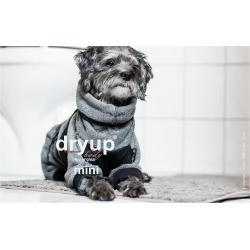 DryUp body ZIP.FIT Mini - anthrazit 35cm - Bademantel
