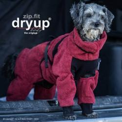 DryUp body ZIP.FIT Mini - bordeaux 40cm - Bademantel