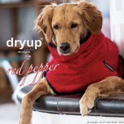 DryUp Cape Standard - red pepper M (60cm) - Bademantel