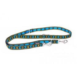 Verstellbare Führleine Manmat - blau